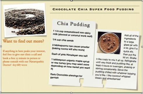pudding card